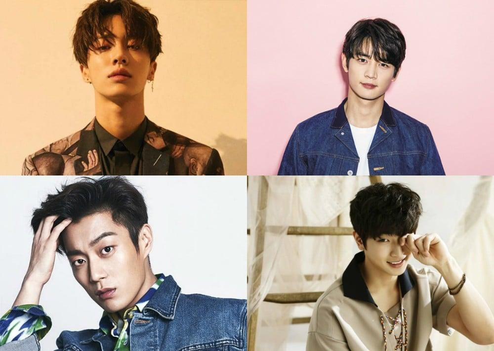 Jinwoon, Minho, Doojoon, Kikwang