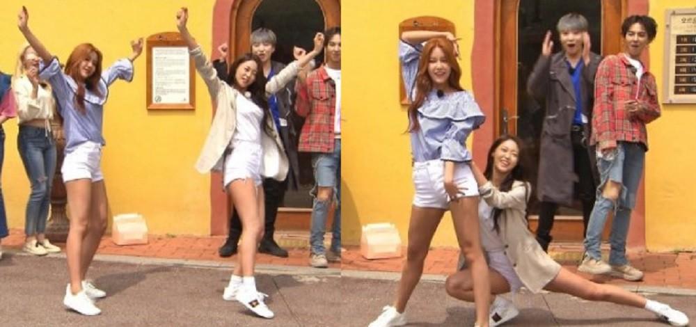AOA, Seolhyun, Hyejeong