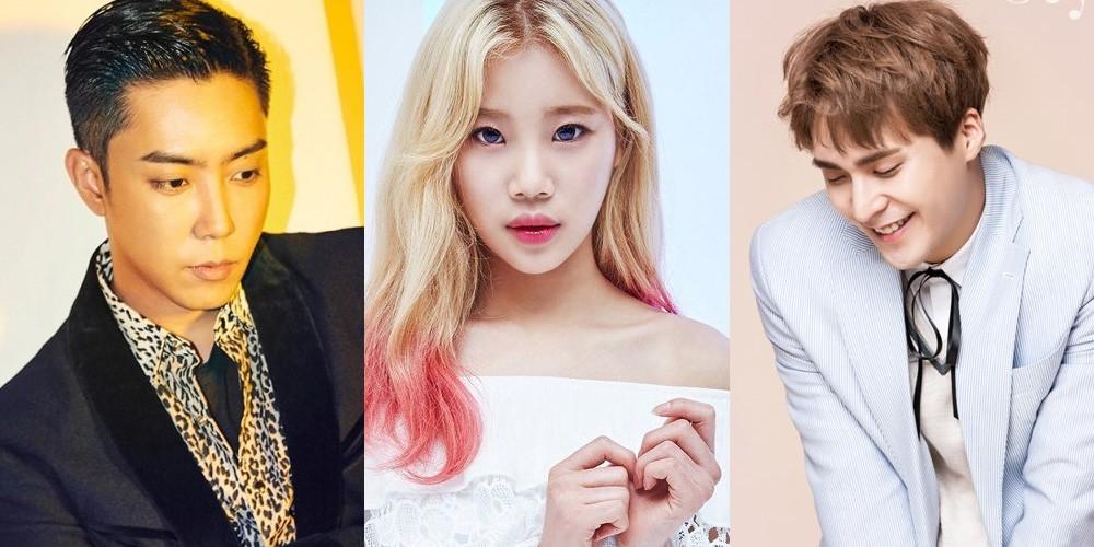 Sechskies, Eun Ji Won, Momoland, JooE, Highlight, Dongwoon