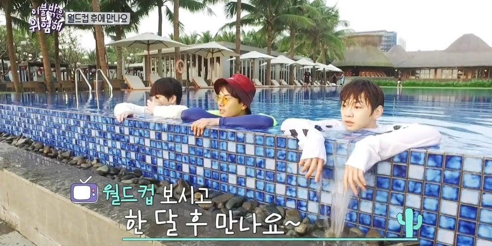 Mark, Mark, Mark, Junhyung, Kang Daniel, Lee Yi Kyung