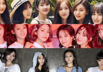 AOA,Brown-Eyed-Girls,g-friend