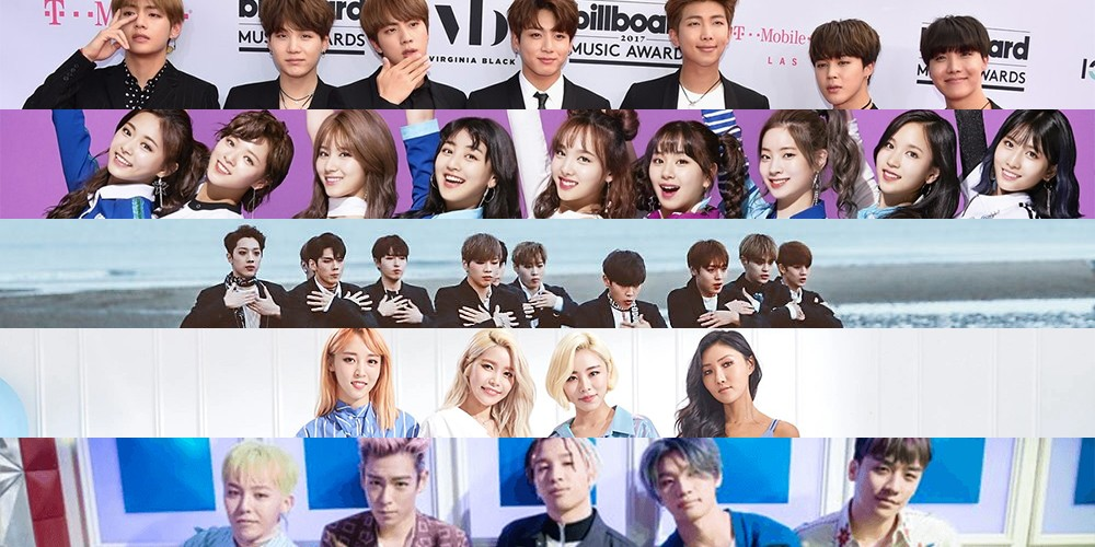 A-Pink,B1A4,Big-Bang,BTOB,EXID,EXO,fx,INFINITE,NUEST,nuest-w,SHINee,Super-Junior,TVXQ,VIXX,Seventeen,bts,got7,mamamoo,red-velvet,g-friend,twice,nct,black-pink,highlight,wanna-one