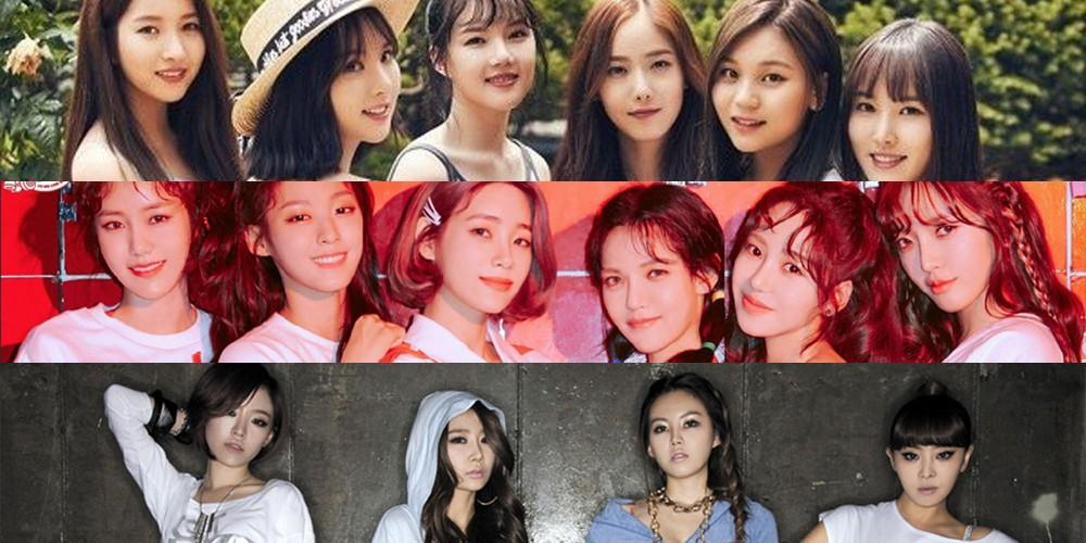 AOA, Brown Eyed Girls, G-Friend (Girlfriend)