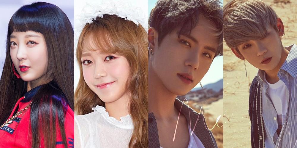 Hyerin EXID, Kim So Hee, Kim Dong Han dan Takada Kenta