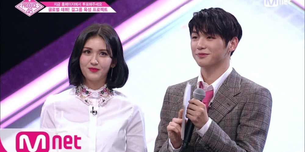 Kang Daniel and Jeon So Mi surprise the contestants on