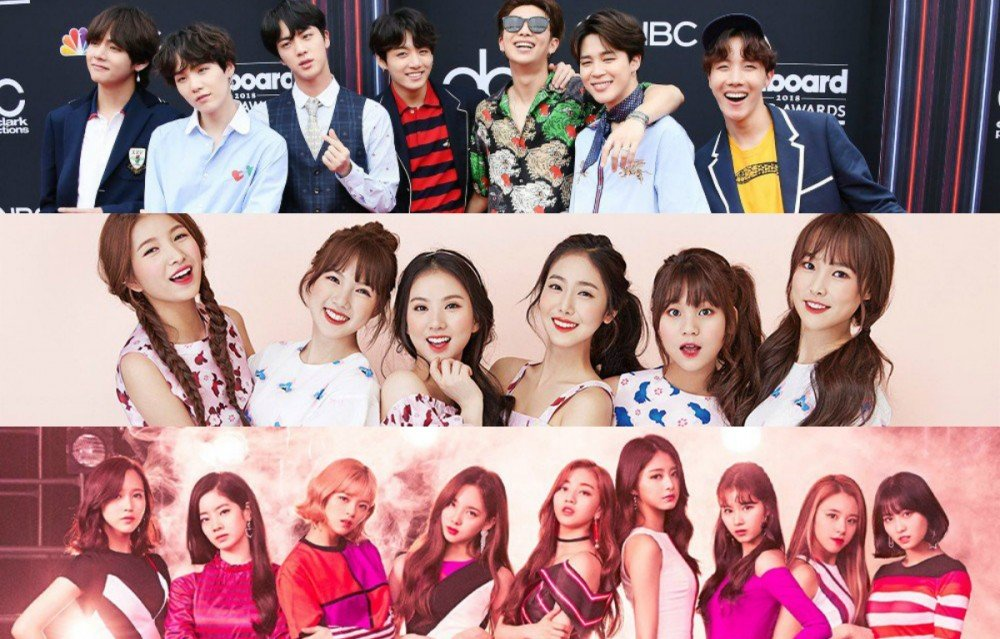bts,g-friend,twice