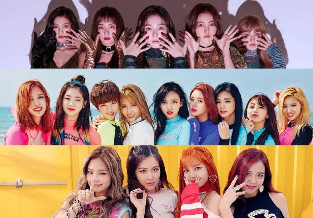 Red Velvet, Irene, TWICE, Tzuyu, Black Pink, Jisoo