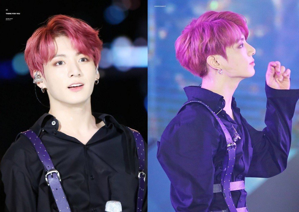 Netizens Rave About Jungkooks New Hair Color From Lotte Duty Free