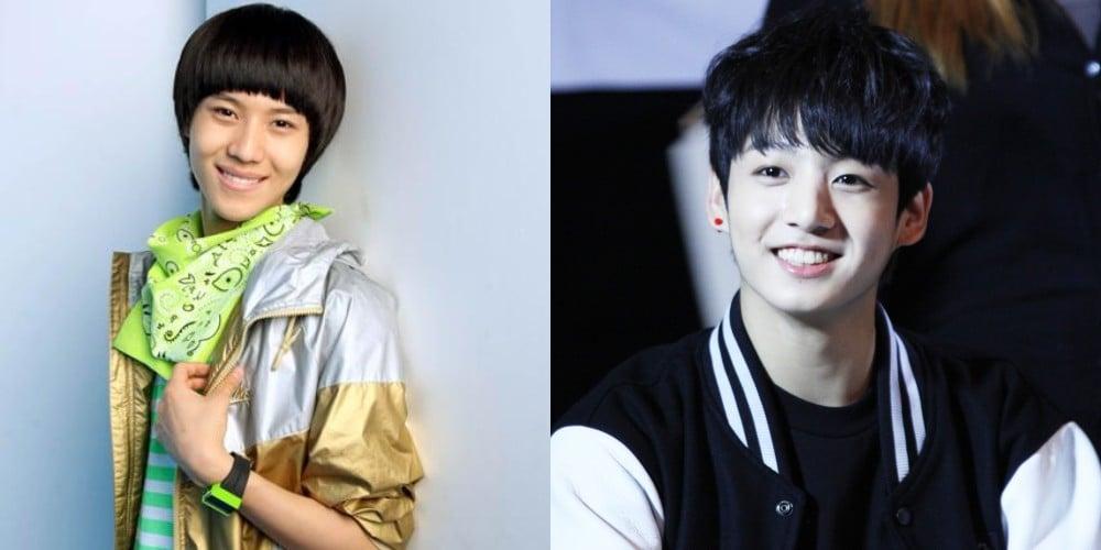 Ren, Taemin, Jungkook, Samuel Kim