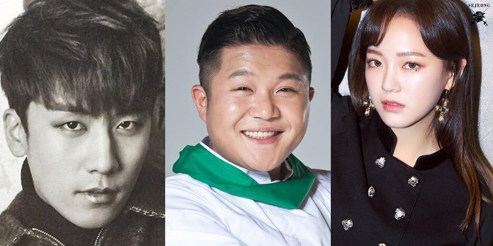 Seungri, Jo Se Ho, Kim Se Jung