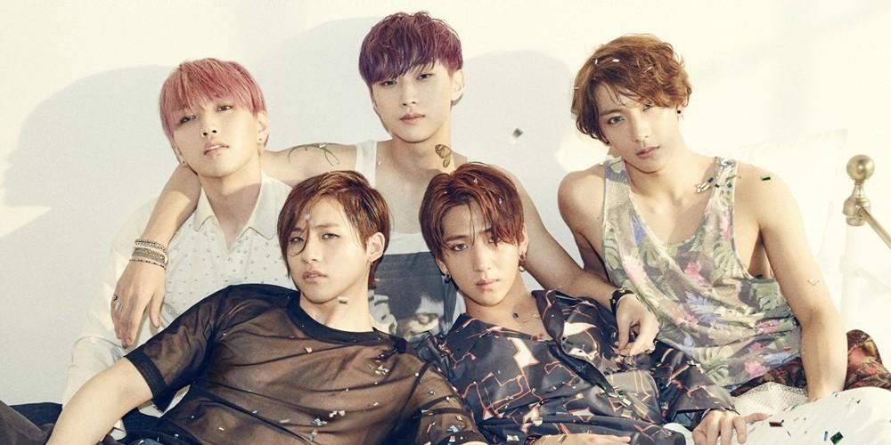 B1A4, Jinyoung, CNU, Sandeul, Baro, Gongchan