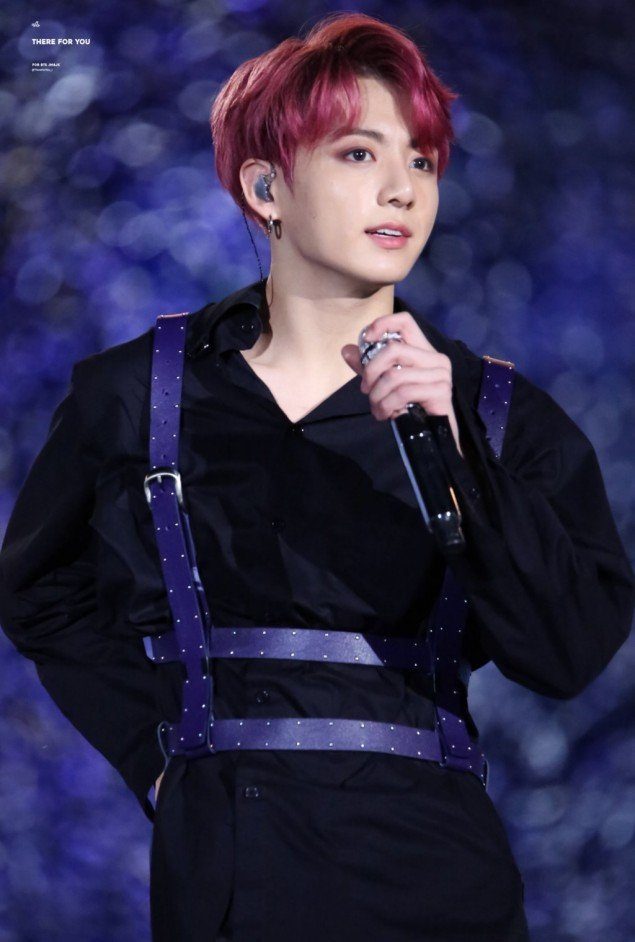 Dyed Completely In Reddish Purple This Wine Colored Shade Of Jungkooks Hair Had Netizens Search And Upload Various Photos On Their Social Media