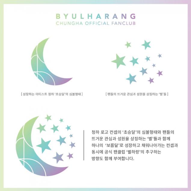 Kim Chung Ha announces her official fandom name and logo