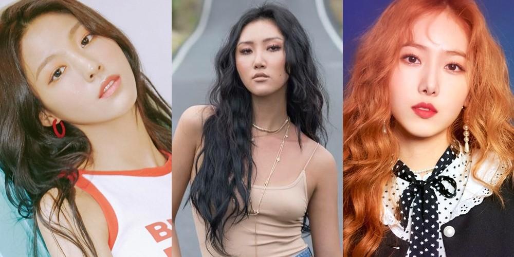 AOA,Seolhyun,mamamoo,hwa-sa,g-friend,sinb