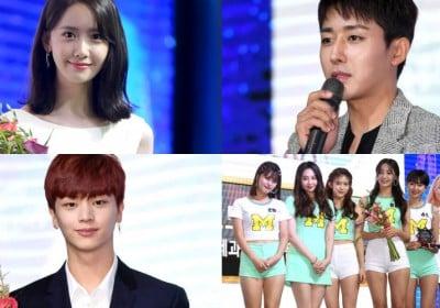 Sungjae,YoonA,son-ho-joon,momoland