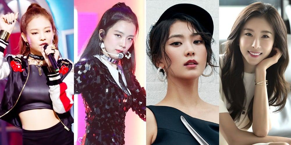 Bora, Jennie, Jisoo
