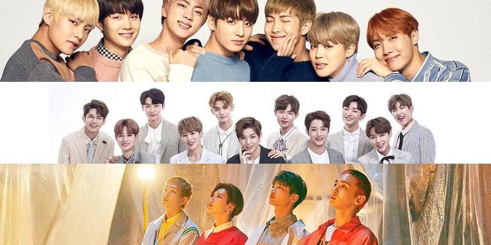 SHINee, (Bangtan Boys) BTS, Wanna One
