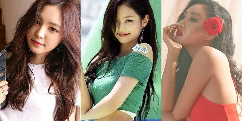 A-Pink,Na-Eun,mamamoo,hwa-sa,black-pink,jennie