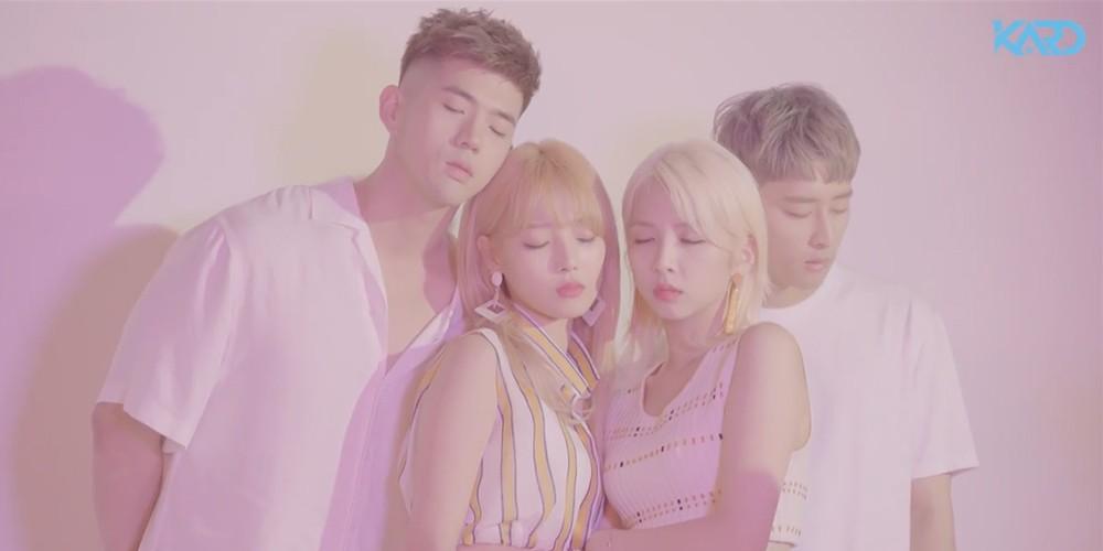KARD, J.seph, B.M, Somin, Jiwoo