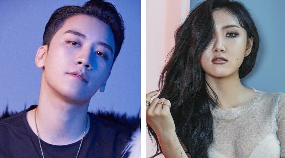 Big Bang, Seungri, MAMAMOO, Hwa Sa