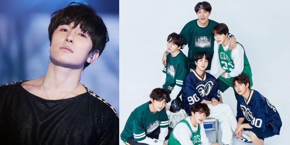 Dongwan, (Bangtan Boys) BTS