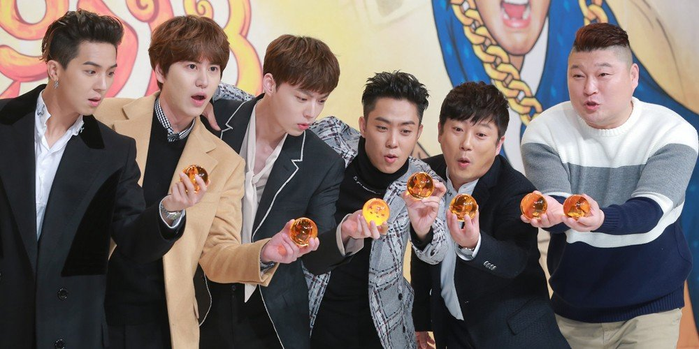 Eun Ji Won, Lee Seung Gi, Kang Ho Dong, Lee Soo Geun, Song Min Ho (Mino), Ahn Jae Hyun