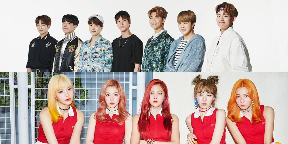 (Bangtan Boys) BTS, Red Velvet