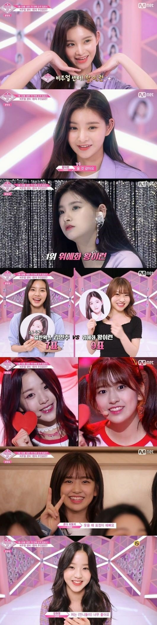Who is voted the top visual by fellow trainees on Produce 48? | My News
