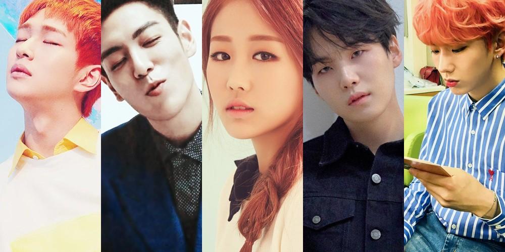 BAP,Bang-Yong-Guk,Big-Bang,TOP,BTOB,Hyunsik,FT-Island,Hongki,INFINITE,L,Hoya,SHINee,Onew,Shinhwa,Junjin,Dongwan,Andy,VIXX,Ken,Hongbin,Seventeen,scoups,bts,suga,lovelyz,baby-soul,monsta-x,jooheon,kihyun,wanna-one,yoon-ji-sung,kwon-hyun-bin,kim-sang-kyun