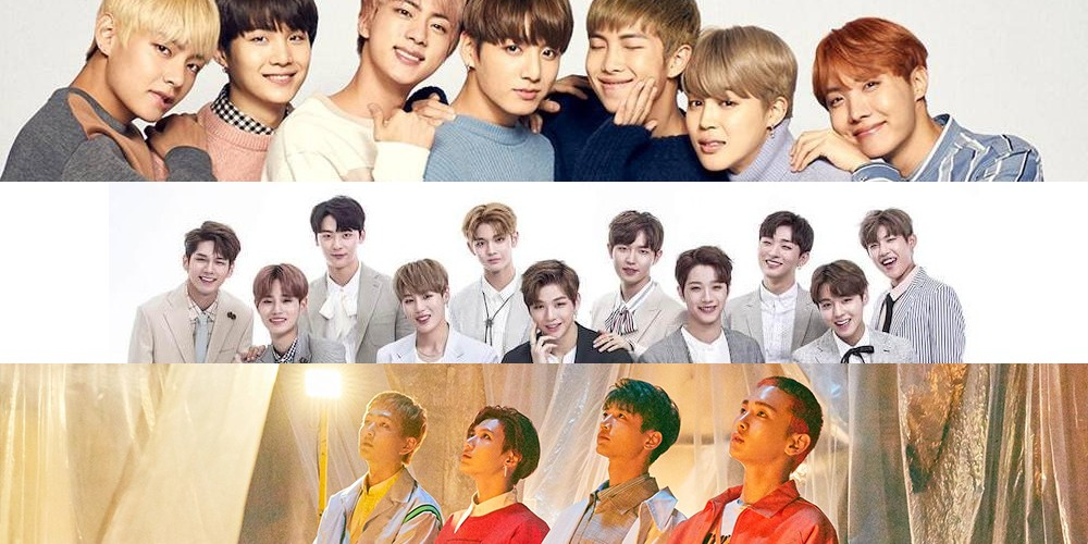 SHINee,bts,wanna-one