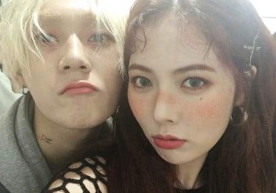 HyunA,pentagon,edawn,yan-an