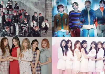 lovelyz,april,astro,day6,nct,gugudan,sf9,dream-catcher