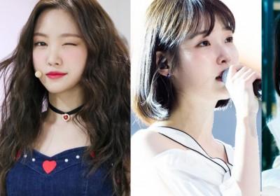 A-Pink,Na-Eun,IU,red-velvet,irene