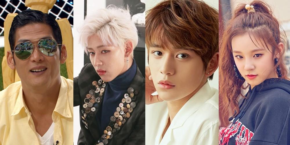 g o d's Park Joon Hyung, GOT7's BamBam, NCT's Lucas, & (G)I