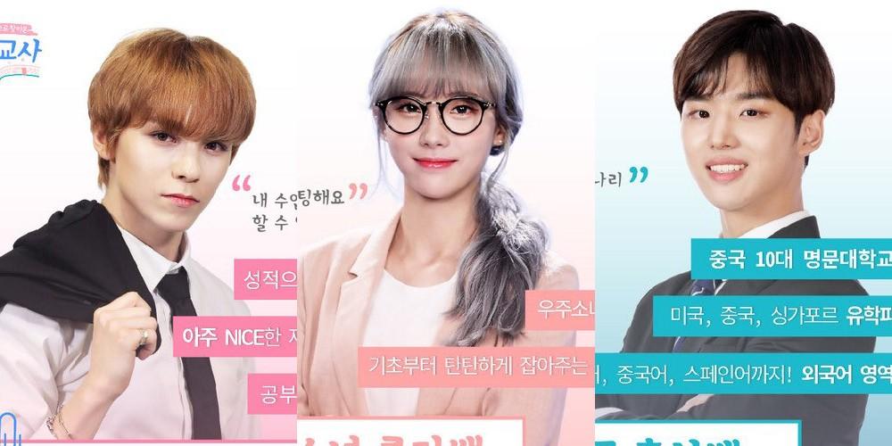 Seventeen,vernon,cosmic-girls,luda,pentagon,hongseok