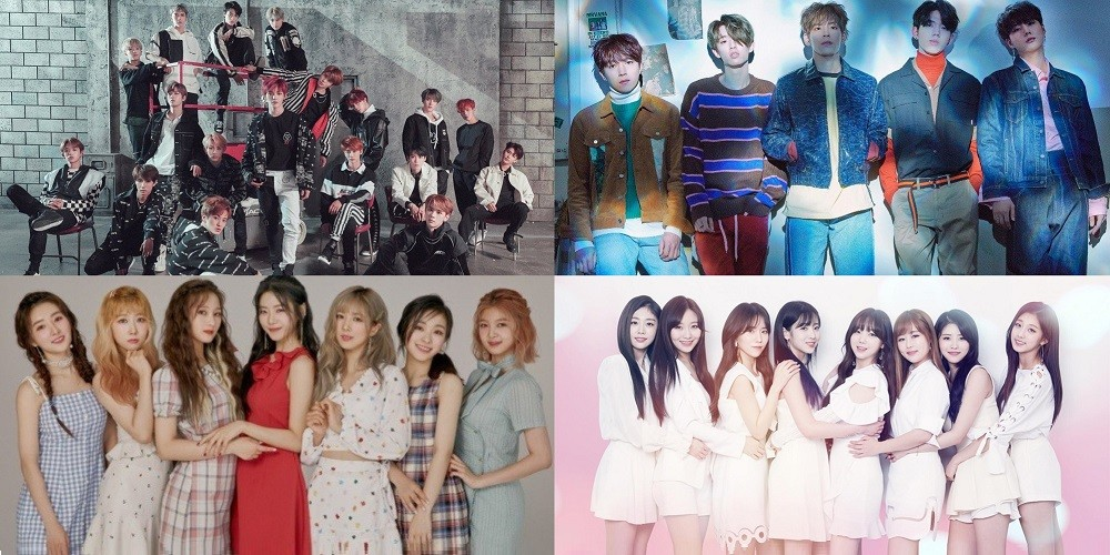 Lovelyz, April, ASTRO, DAY6, NCT, Gugudan, SF9, Dream Catcher