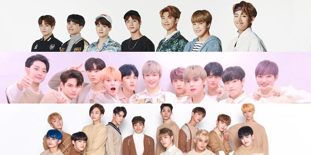 Bts tops the brand value ranking for boy groups in august wanna bts tops the brand value ranking for boy groups in august wanna one and seventeen follow stopboris Choice Image