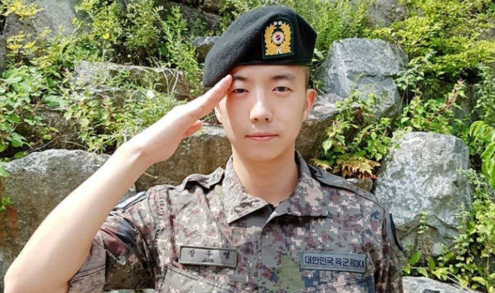 Image result for 2pm wooyoung military