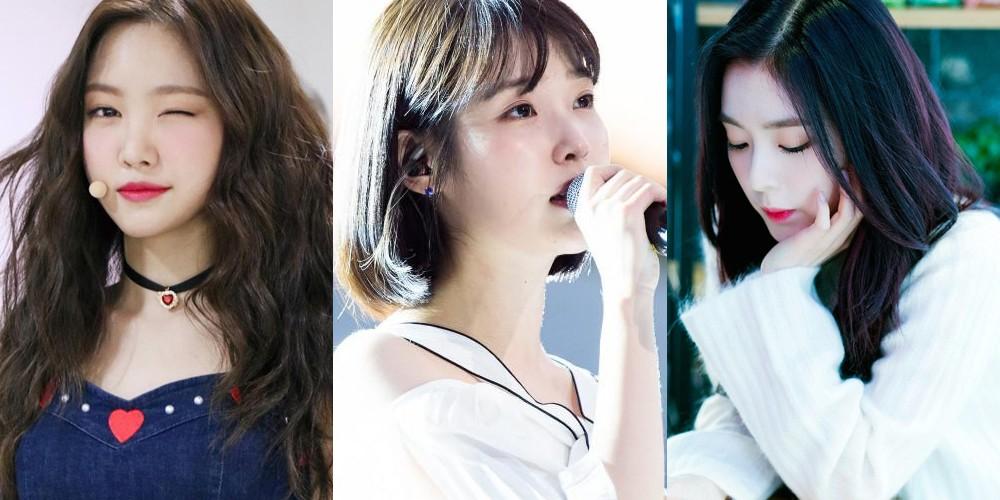 A Pink, Na-Eun, IU, Red Velvet, Irene