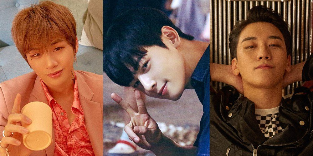 Seungri,cha-eun-woo,kang-daniel