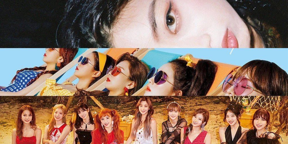 A Pink, Zico, IU, MAMAMOO, Red Velvet, TWICE, Black Pink, Bolbbalgan4, (G)I-DLE