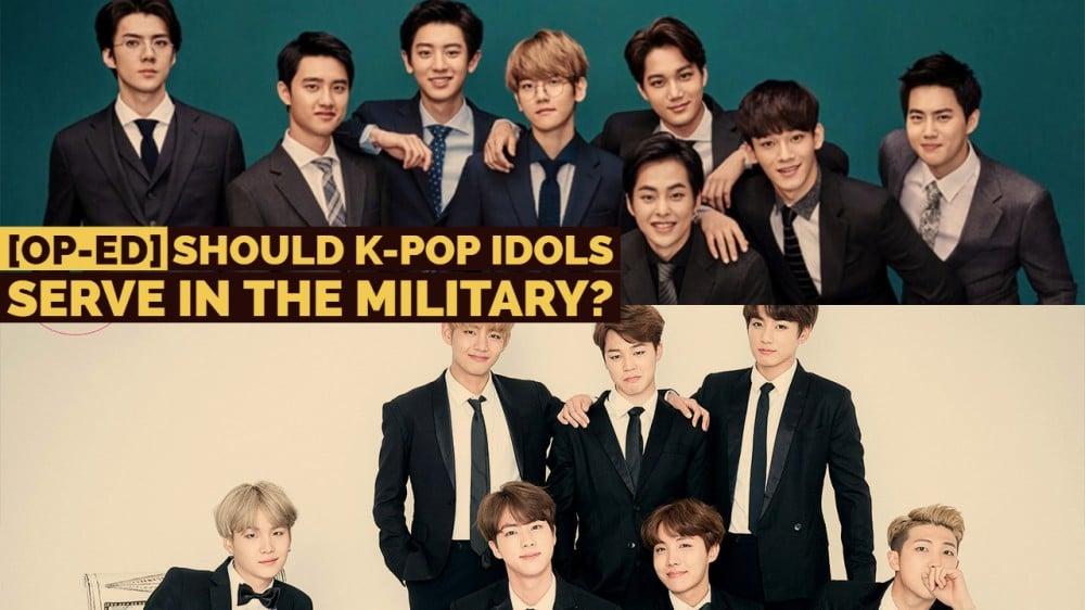 OP-ED] Should K-pop idols serve in the military? | allkpop