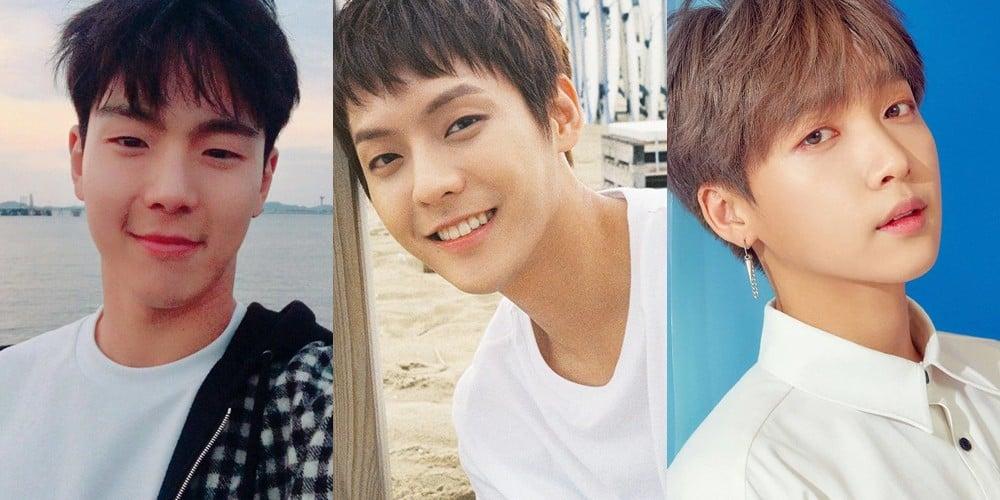 BTOB, Minhyuk, Minhyuk, MONSTA X, Shownu, Jung Se Woon