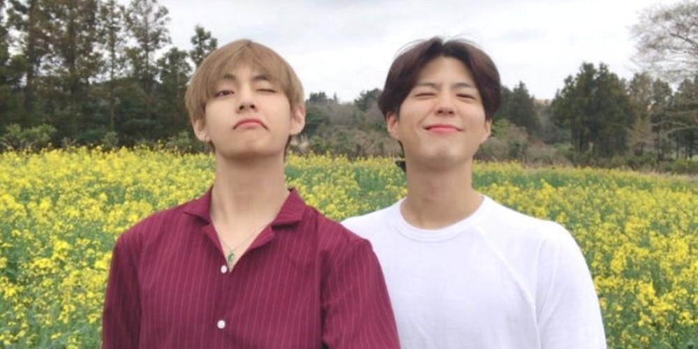 (Bangtan Boys) BTS, V, V, Park Bo Gum