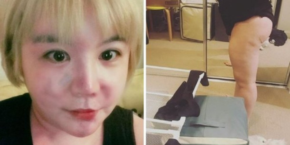 Amy increases her weight to near 200lbs on purpose for a 'study'   allkpop