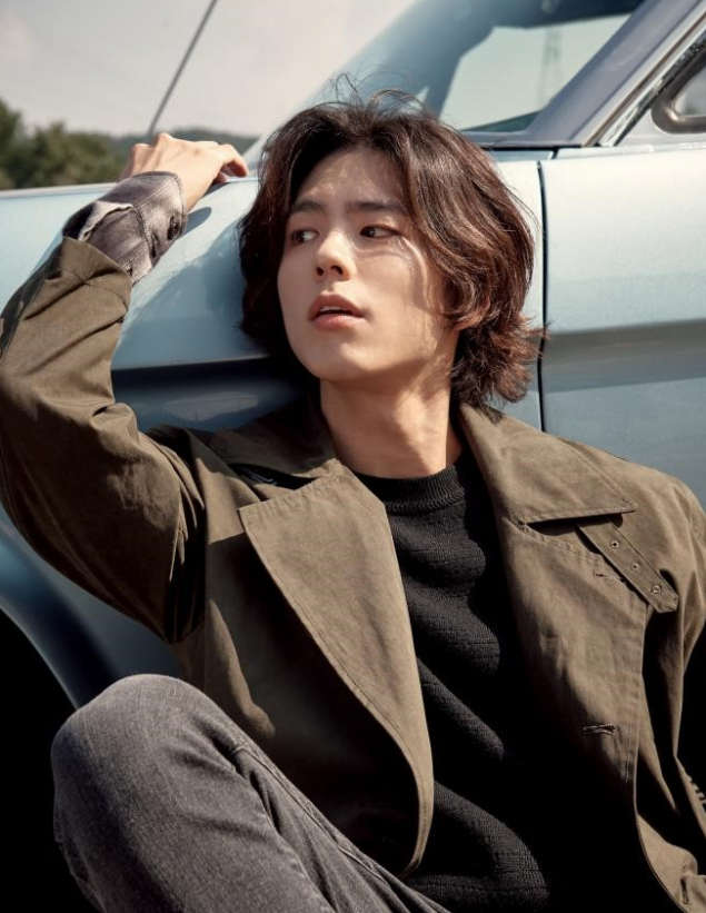 Park Bo Gum Is A Total Heartthrob With Long Hair In 2018 F