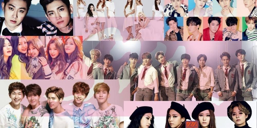 EXO,Girls-Generation,Taeyeon,Super-Junior,red-velvet,nct-127,nct-dream