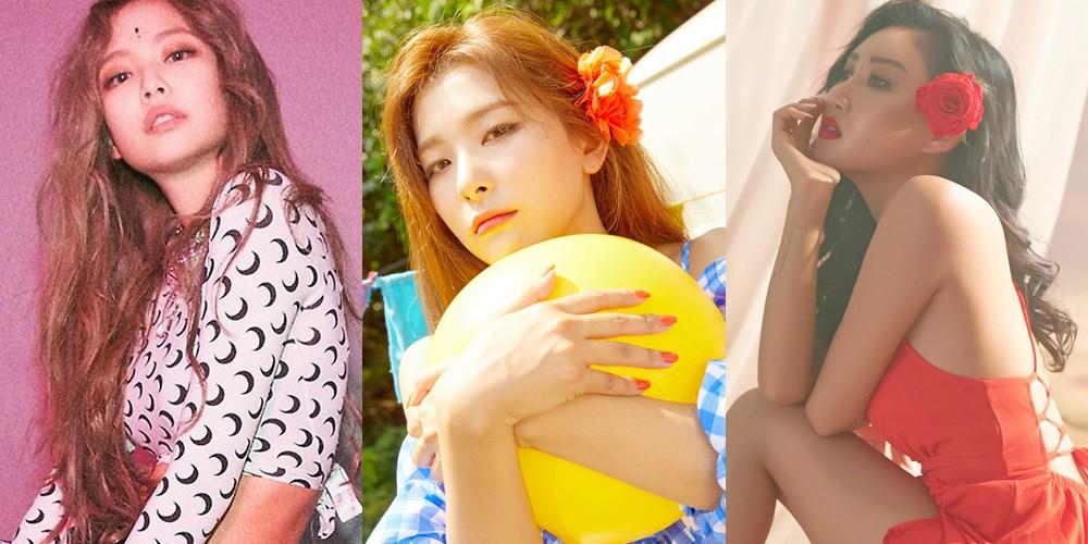 Seulgi,mamamoo,hwa-sa,red-velvet,black-pink,jennie