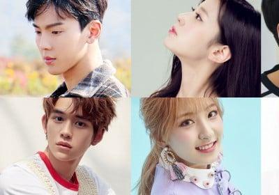 Brown Eyed Girls, Narsha, VIXX, Ravi, Lucas, Berry Good, MONSTA X, Shownu, Cosmic Girls, Eunseo, NCT