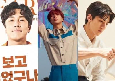 Sehun, Taemin, Dongwan, Mark, Jisung, Mark, Mark